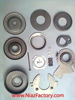 تولید انواع واشر فلزی